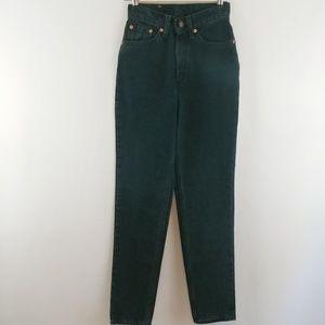 LEVI'S | vintage black high rise taper 512 jeans